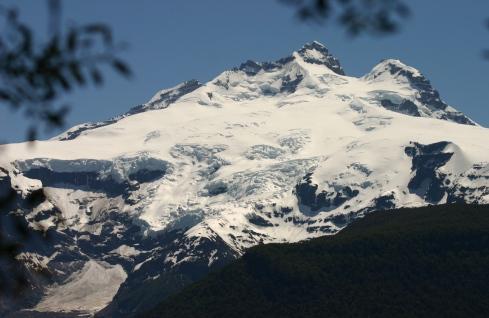 Mt. Tronador (Thunder Mountain) 11,453 ft. Patagonia/Eddy Ancinas