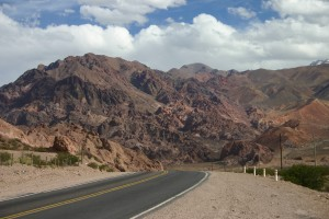 Into the Andes on RN 7
